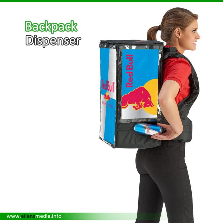 Backpack Dispenser