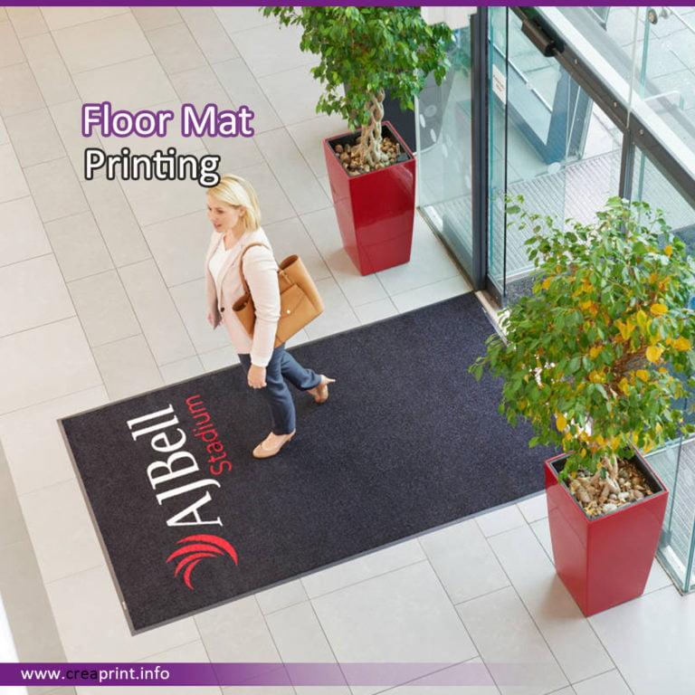 Floor Mat Print