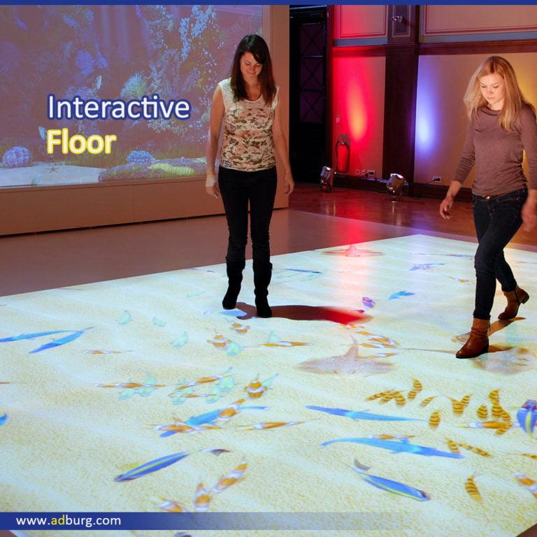 Interactive Floor Projection Display