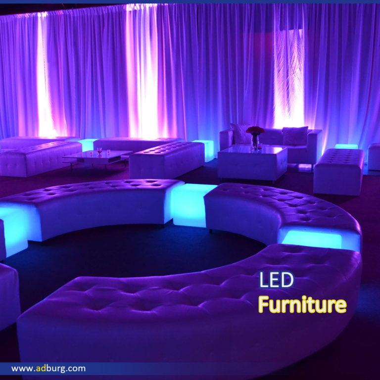 Animated LED Furniture