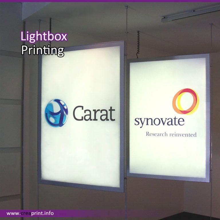 Light box Printing