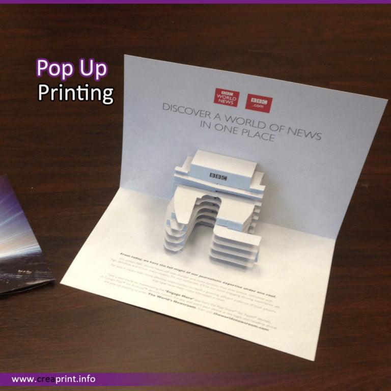 Pop Up Offset Printing