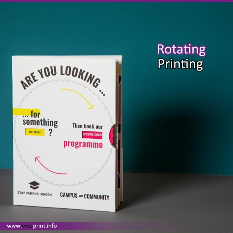 Rotating Printing