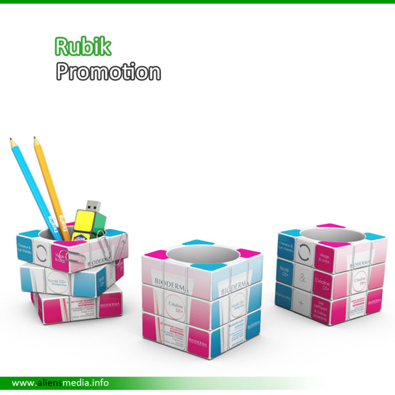 Rubik Cube Pot