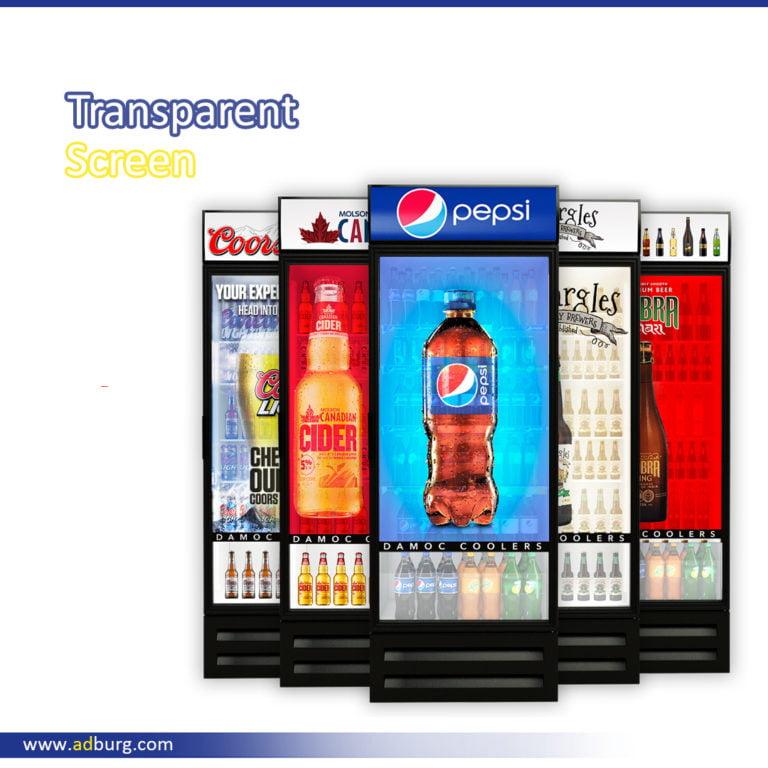 Transparent LCD Screen