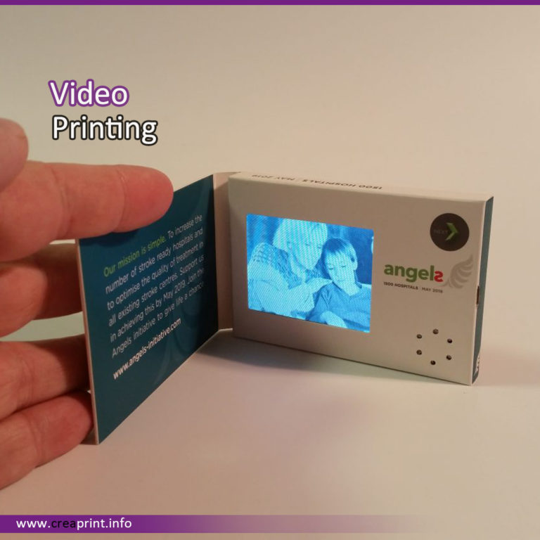 Video in Printing