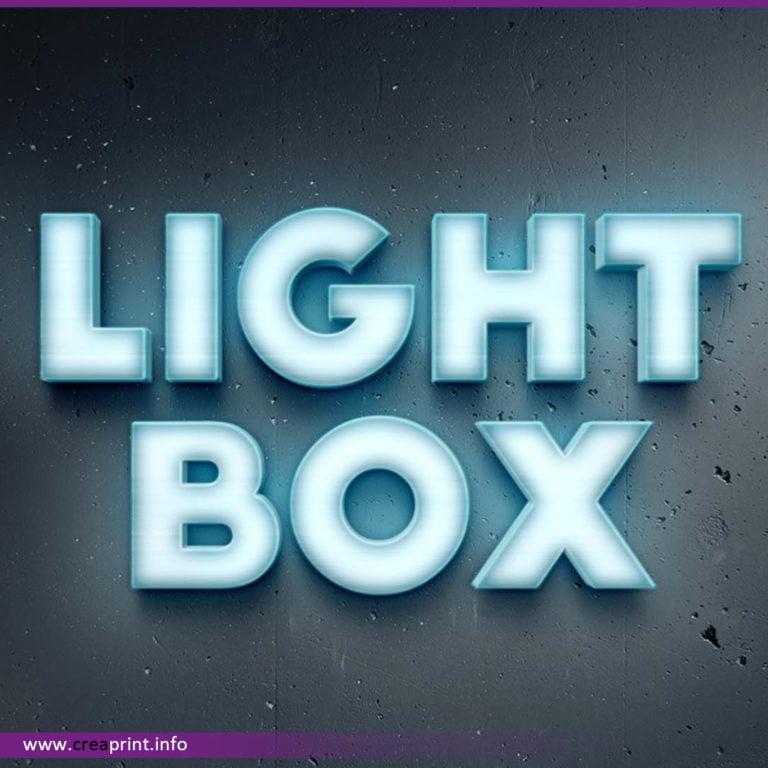 Light Box Signage